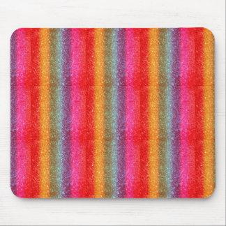 Glitter Rainbow gradient Mouse Pad