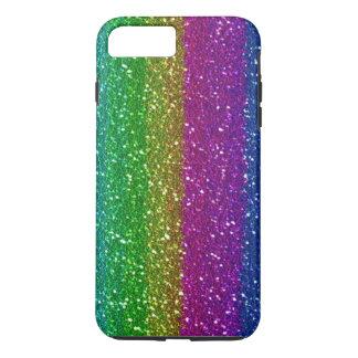 Glitter Rainbow iPhone 7 Plus Tough iPhone 7 Plus Case
