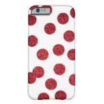 Glitter Red iPhone 6 case (Polka-dots)