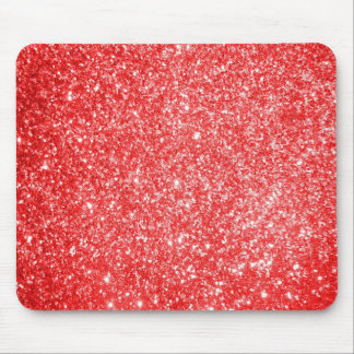 Glitter Red Mousepads