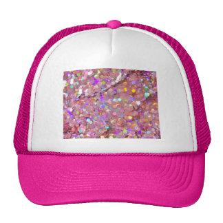 Glitter Shine Sparkle Shower Sequins Peace Hope Trucker Hat