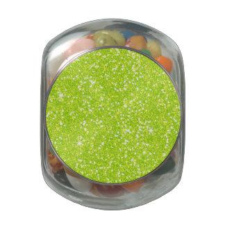 Glitter Shiny Sparkley Glass Jar