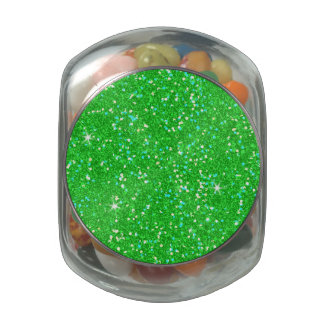 Glitter Shiny Sparkley Jelly Belly Candy Jar