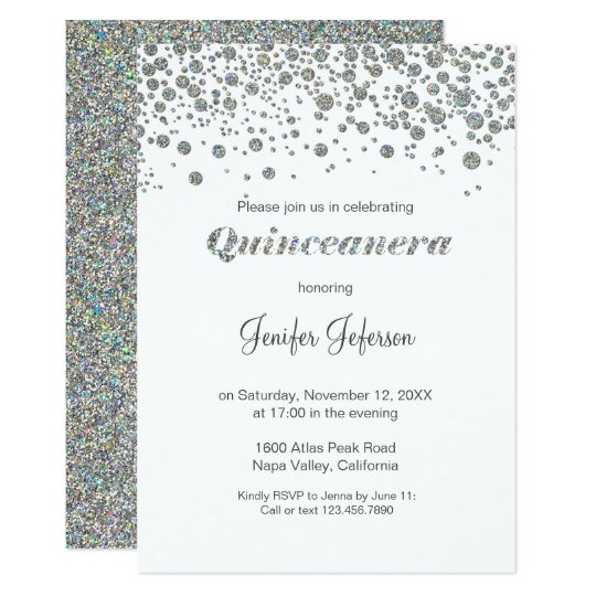 Elegant Quinceanera Invitations & Announcements | Zazzle
