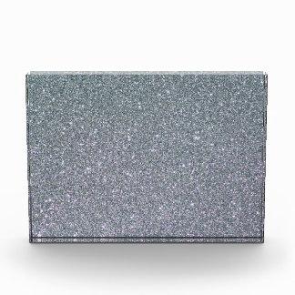 Glitter Silver Shine Luxury Acrylic Award