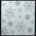 "Glitter Snowflakes Napkins<br><div class=""desc"">These unique napkins will be a HIT at your next party or event!</div>"