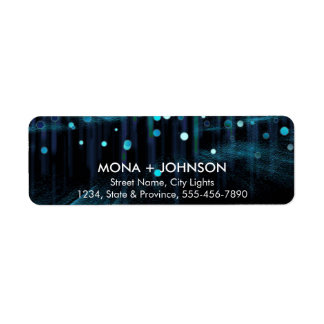 Glitter Sparkle Confetti Dots Modern Return labels