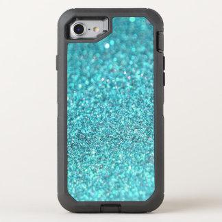 Glitter Sparkley Diamond Colorful OtterBox Defender iPhone 8/7 Case