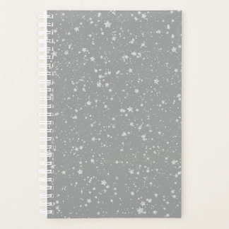 Glitter Stars4 - Silver Planner