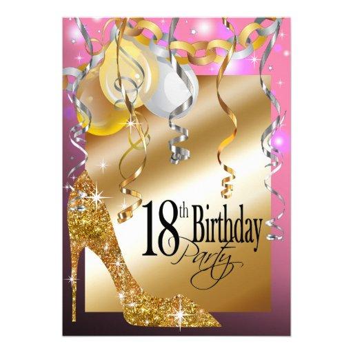 Invitation For 18Th Birthday Design as luxury invitation ideas