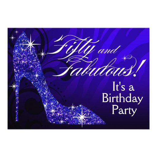 Personalized Glitter shoes purse handbag lipstick Invitations – Handbag Party Invitations