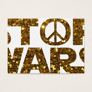 glitter stop wars business card