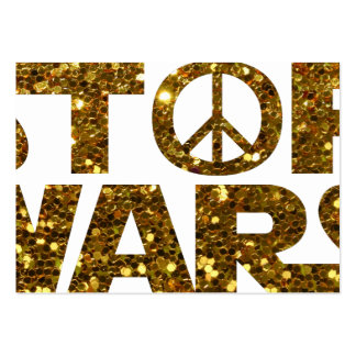 glitter stop wars large business card