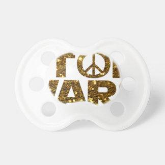 glitter stop wars pacifier