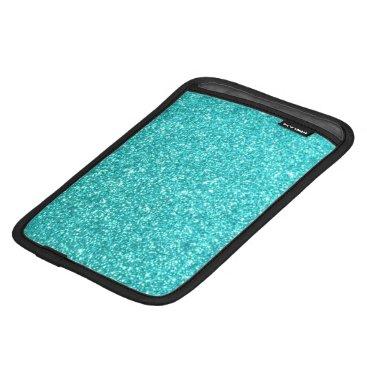 Beach Themed Glitter Template iPad Mini Sleeve