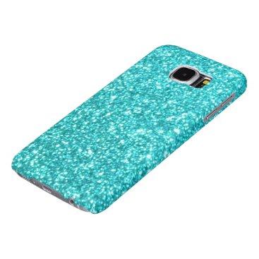 Beach Themed Glitter Template Samsung Galaxy S6 Case