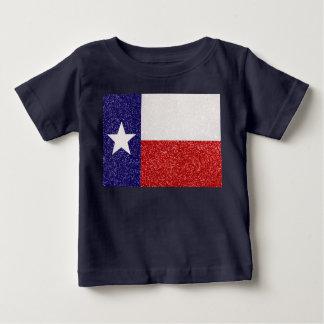 Glitter Texas flag baby shirt