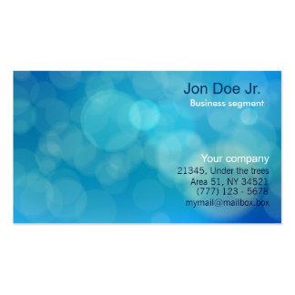 Glitter texture business card