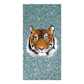 Glitter Tiger Card
