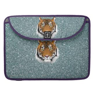 Glitter Tiger MacBook Pro Sleeve