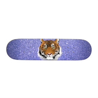 Glitter Tiger Skateboard Deck