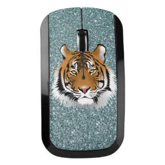 Glitter Tiger Wireless Mouse