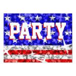 """Glitter USA 'Party'  invitation 5"""" X 7"""" Invitation Card"""
