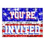 """Glitter USA 'You're Invited'  invitation 5"""" X 7"""" Invitation Card"""