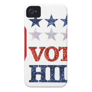 glitter vote hillary iPhone 4 Case-Mate case