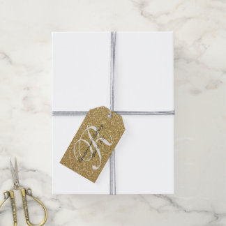 Glitter Wedding Favor Tags   Pack of Gift Tags