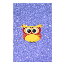 Glitter with Owl Flyer