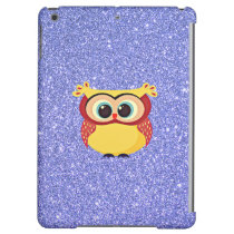 Glitter with Owl iPad Air Case
