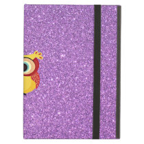 Glitter with Owl iPad Air Cover