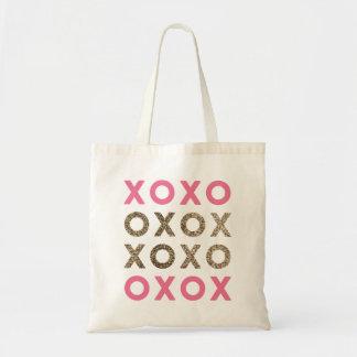 Glitter XOs Wedding Tote Bag