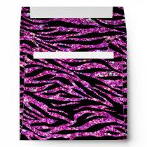 Glitter zebra pattern Envelope