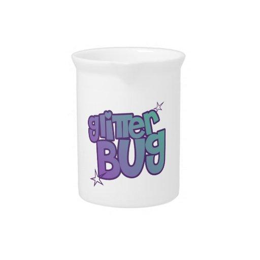 Glitterbug Drink Pitcher