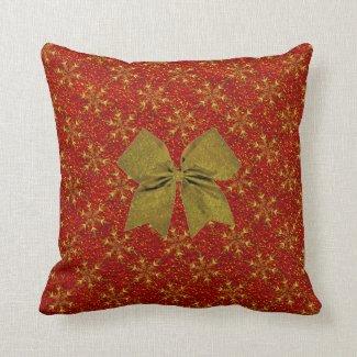 Glittered Christmas Pillows