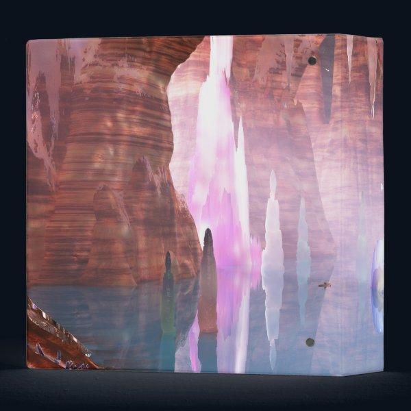 Glittering Caves Binder