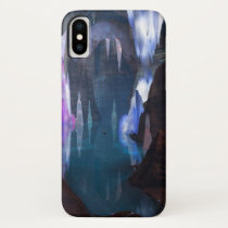 Glittering Caves by Night iPhone Case-Mate