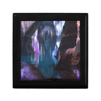 Glittering Caves by Night Jewelry Box