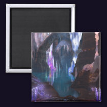 Glittering Caves by Night Magnet