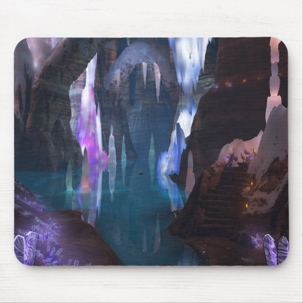 Glittering Caves by Night Mousepad