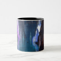 Glittering Caves by Night Mug