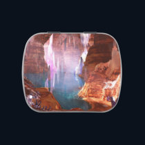Glittering Caves Candy Tin
