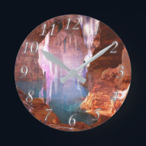Glittering Caves Clock