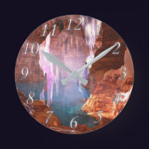 Glittering Caves Clock