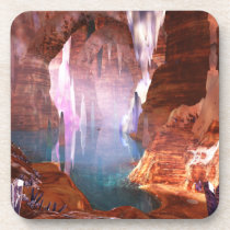 Glittering Caves Coasters