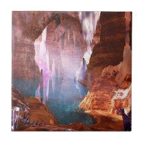 Glittering Caves Decorative Tile / Trivet