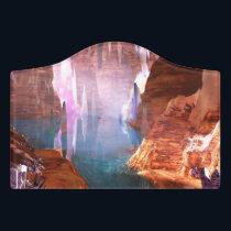 Glittering Caves Door Sign