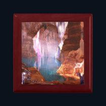 Glittering Caves Jewelry Box